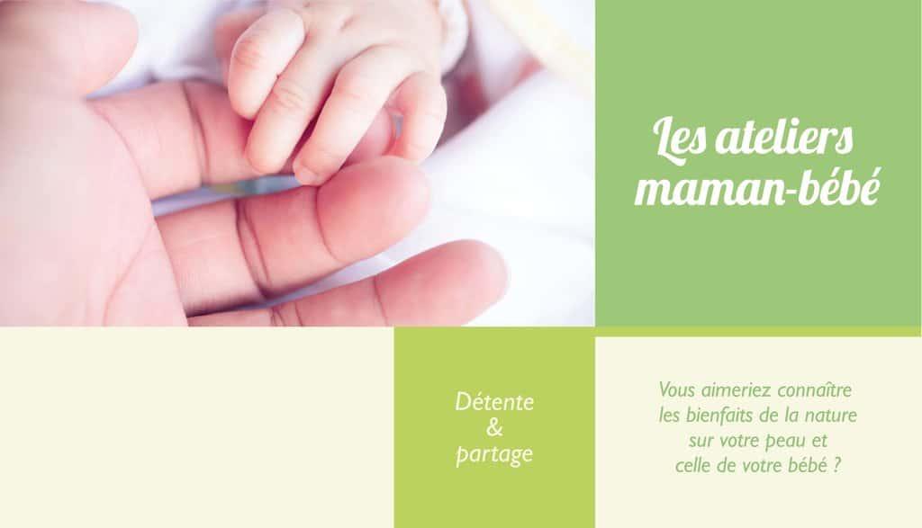 Anaturea, les ateliers maman bébé