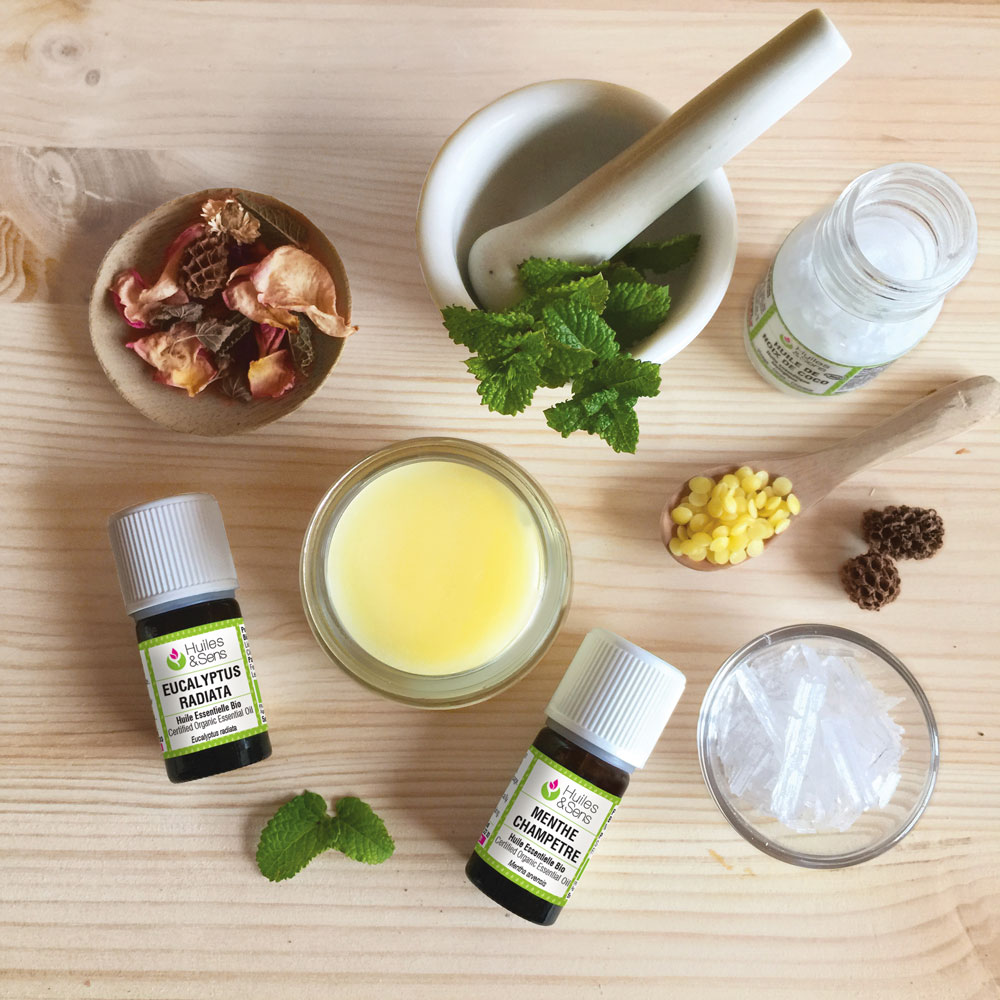 Les ingrédients cosmétiques maison